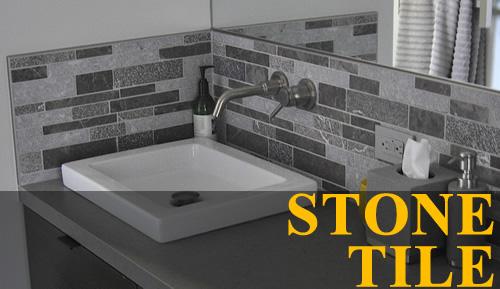 stone bathroom tiling - Marin, CA