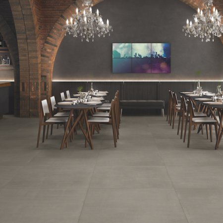 Chic Bar & Restaurant Featuring Stone Tiles