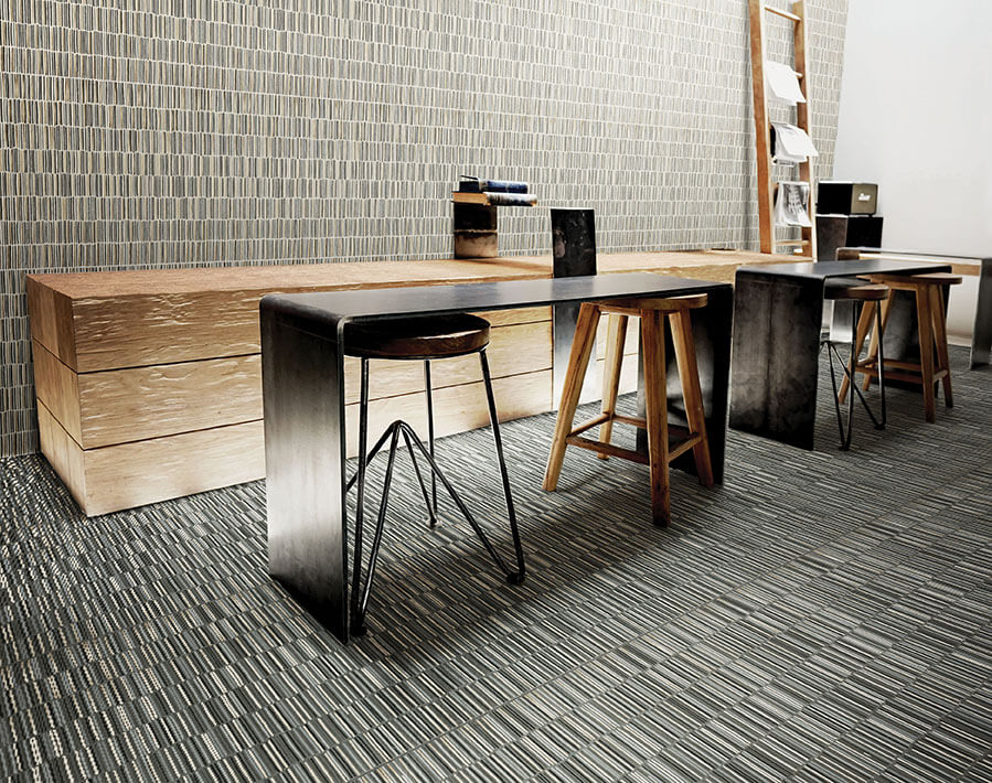 Seating Area Featuring Shangai Surfaces